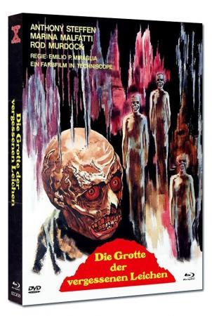 Die Grotte der vergessenen Leichen (Limited Mediabook, Blu-ray+DVD, Cover A) (1971) [FSK 18] [Blu-ray]