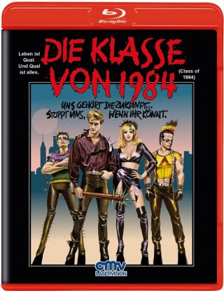 Die Klasse von 1984 (1982) [FSK 18] [Blu-ray]