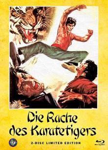 Die Rache des Karatetigers (Limited Mediabook, Blu-ray+DVD, Cover A) (1973) [FSK 18] [Blu-ray]