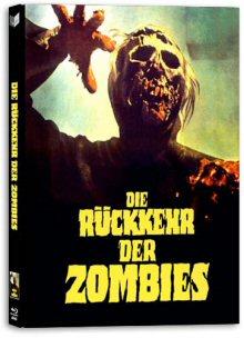 Die Rückkehr der Zombies (Lim. Uncut Mediabook, Blu-ray+DVD, Cover A) (1980) [FSK 18] [Blu-ray]