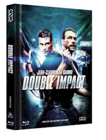 Geballte Ladung - Double Impact (Limited Mediabook, Blu-ray+DVD, Cover B) (1991) [FSK 18] [Blu-ray]