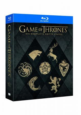 Game of Thrones - Die komplette dritte Staffel (Digipak) [Blu-ray]