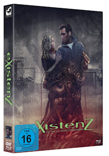 eXistenZ (Limited Mediabook, 2 Discs) (1999) [Blu-ray]