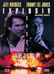 Explosiv - Blown Away (Limited Mediabook, Blu-ray+DVD, Cover B) (1994) [Blu-ray]