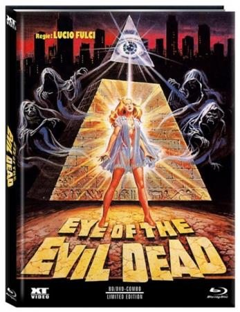 Amulett des Bösen (Manhattan Baby) (Limited Mediabook, Blu-ray+DVD, Cover C) (1982) [FSK 18] [Blu-ray]