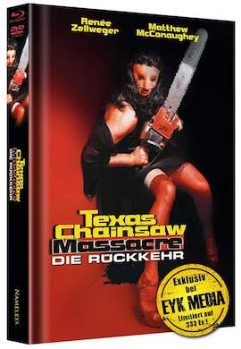 Texas Chainsaw Massacre - Die Rückkehr (Limited Mediabook, Blu-ray+DVD, Cover D) (1994) [FSK 18] [Blu-ray]