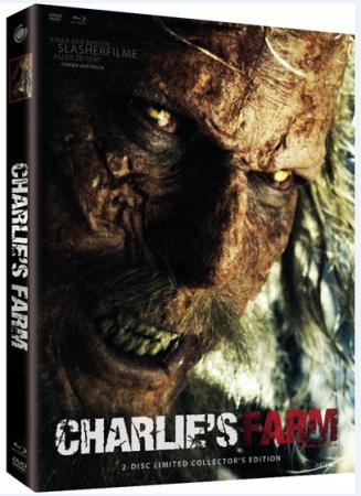 Charlie's Farm (Limited Mediabook, Blu-ray+DVD, Cover B) (2014) [FSK 18] [Blu-ray]