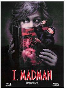 Hardcover (I, Madman) (Limited Mediabook, Blu-ray+DVD, Cover B) (1989) [Blu-ray]