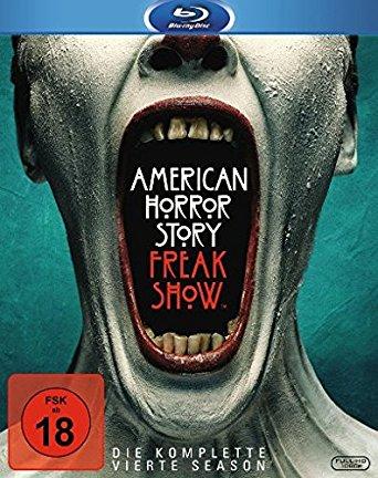 American Horror Story - Season 4 (3 Discs) [FSK 18] [Blu-ray]