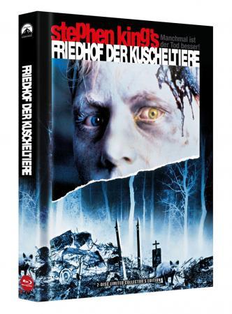 Friedhof der Kuscheltiere (Limited Mediabook, Blu-ray+DVD) (1989) [FSK 18] [Blu-ray]