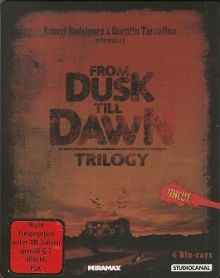 From Dusk Till Dawn Trilogy (Uncut 4 Disc Steelbook Edition) [FSK 18] [Blu-ray]