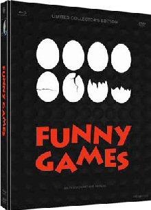 Funny Games (4 Disc Limited Mediabook)  (1997) [FSK 18] [Blu-ray]