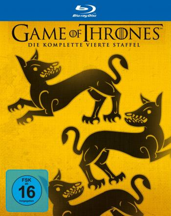Game of Thrones - Die komplette 4. Staffel (5 Discs, Digipak) [Blu-ray]
