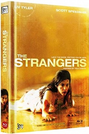 The Strangers (Unrated Limited Mediabook, Blu-ray+DVD, Cover C) (2008) [FSK 18] [Blu-ray]