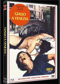 Giallo A Venezia (Limited Mediabook, Blu-ray+DVD) (1979) [FSK 18] [Blu-ray]