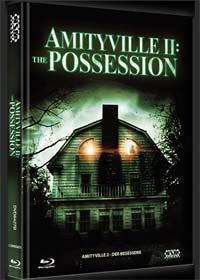 Amityville 2 - Der Besessene (Limited Mediabook, Blu-ray+DVD, Cover B) (1982) [FSK 18] [Blu-ray]
