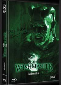Wishmaster 2 - Das Böse stirbt nie (Limited Mediabook, Blu-ray+DVD, Cover B) (1999) [FSK 18] [Blu-ray]