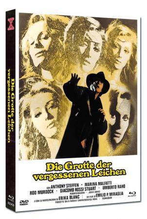 Die Grotte der vergessenen Leichen (Limited Mediabook, Blu-ray+DVD, Cover D) (1971) [FSK 18] [Blu-ray]
