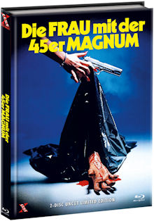 Die Frau mit der 45er Magnum (Limited Mediabook, Blu-ray+DVD, Cover B) (1981) [FSK 18] [Blu-ray]
