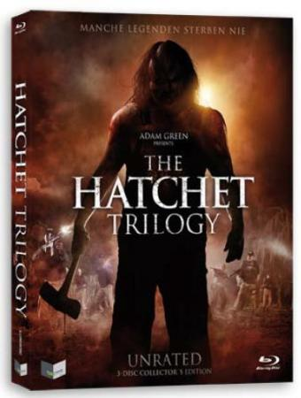 Hatchet Trilogy (Uncut 3 Disc Edition im Schuber) [FSK 18] [Blu-ray]