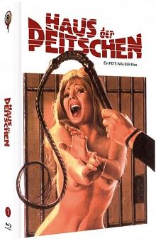 Das Haus der Peitschen (Limited Mediabook, Blu-ray+DVD, Cover A) (1974) [FSK 18] [Blu-ray]