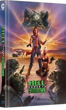 Hell Comes to Frogtown (Limited Mediabook, Blu-ray+DVD, Cover A) (1988) [Blu-ray]