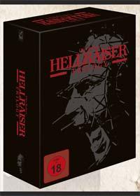 Hellraiser 1-3 (Limited Black Box Edition, 4 Mediabooks + Buch, 8 Discs) (Uncut) [FSK 18] [Blu-ray]