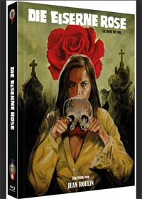 Die eiserne Rose (Limited Mediabook, Blu-ray+DVD, Cover C) (1973) [Blu-ray]