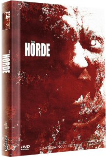 Die Horde (Uncut Limited Mediabook, Blu-ray+DVD, Cover C) (2009) [FSK 18] [Blu-ray]