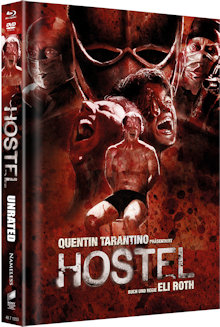 Hostel (Limited Mediabook, Blu-ray+DVD) (2005) [FSK 18] [Blu-ray]