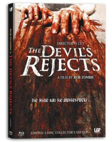 The Devil's Rejects (Limited Uncut Mediabook, Blu-ray + 2 DVDs, Cover C) (2005) [FSK 18] [Blu-ray]