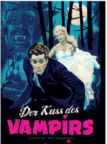 Der Kuss des Vampir (3 Disc Limited Mediabook, Blu-ray+2 DVDs, Cover C) (1963) [Blu-ray]