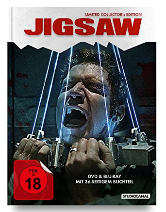 Jigsaw (Limited Uncut Collector's Edition, Blu-ray+DVD) (2017) [FSK 18] [Blu-ray]