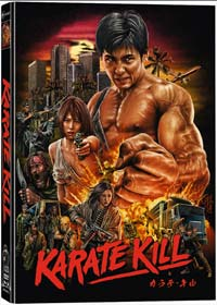 Karate Kill (3 Disc Limited Mediabook, Blu-ray+DVD+CD) (2016) [FSK 18] [Blu-ray]