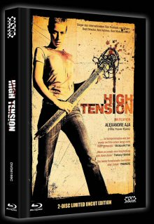 High Tension (Uncut Limited Mediabook, Blu-ray+DVD, Cover C) (2003) [FSK 18] [Blu-ray]