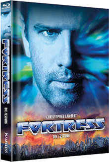 Fortress - Die Festung (Limited Mediabook, Blu-ray+DVD, Cover B) (1993) [Blu-ray]