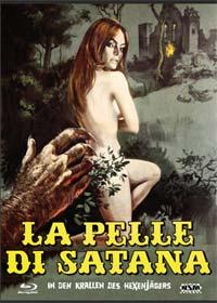 In den Krallen des Hexenjägers (Limited Mediabook, Blu-ray+DVD, Cover B) (1971) [Blu-ray]