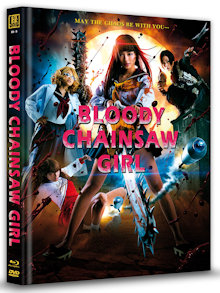 Bloody Chainsaw Girl (Limited Mediabook, Blu-ray+DVD, Cover A) (2016) [FSK 18] [Blu-ray]