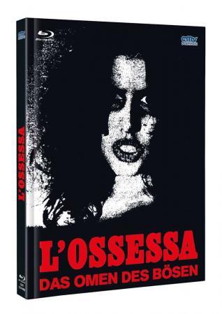 Das Omen des Bösen - Die Satansbeschwörung (L'Ossessa) (Limited Mediabook, Blu-ray+DVD, Cover B) (1974) [FSK 18] [Blu-ray]