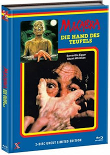 Macabra - Die Hand des Teufels (Limited Mediabook, Blu-ray+DVD, Cover A) (1981) [FSK 18] [Blu-ray]