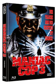 Maniac Cop 3 (Limited Mediabook, Blu-ray+DVD, Cover A) (1992) [FSK 18] [Blu-ray]