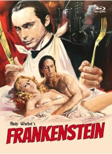 Andy Warhol's Frankenstein (Limited Mediabook, Blu-ray+DVD, Cover C) (1973) [FSK 18] [Blu-ray]