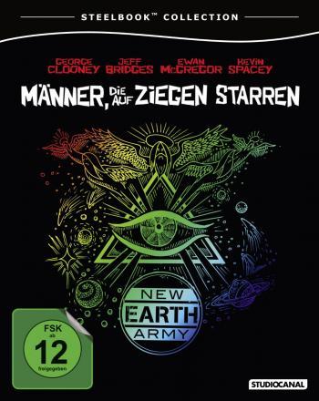 Männer, die auf Ziegen starren (Steelbook) (2009) [Blu-ray]