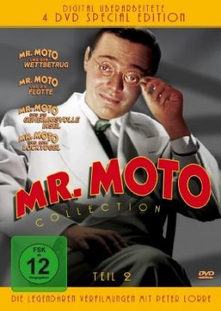 Mr. Moto Collection - Teil 2 (Special Edition) (4 DVDs)
