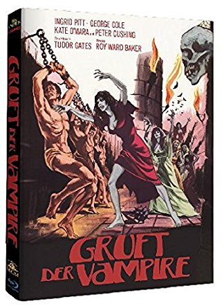 Gruft der Vampire (Limited Mediabook, Cover B) (1970) [Blu-ray]
