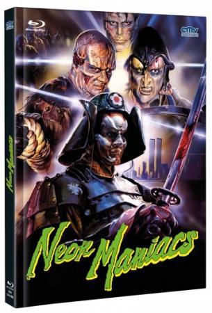 Neon Maniacs - Die Horrorbande (Limited Mediabook, Blu-ray+DVD, Cover B) (1986) [FSK 18] [Blu-ray]