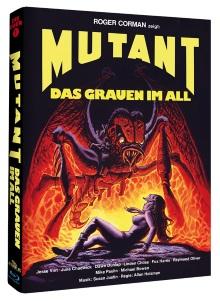Mutant - Das Grauen im All (Limited Mediabook, Cover B) (1982) [Blu-ray]