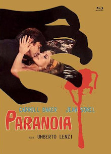 Paranoia (Limited Mediabook, Blu-ray+DVD, Cover B) (1970) [FSK 18] [Blu-ray]