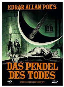 Das Pendel des Todes (Limited Mediabook, Blu-ray+DVD, Cover C) (1961) [Blu-ray]