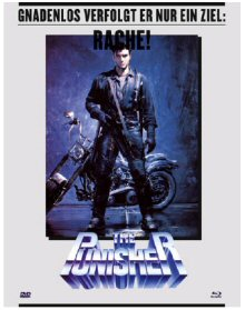 The Punisher (DVD+Blu-ray, Mediabook) (1989) [FSK 18] [Blu-ray]